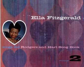 "Ella Fitzgerald LP notebook (8.5"" x 11"")"