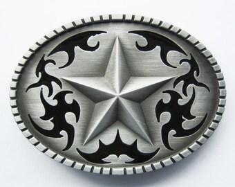 Western Star Cowboy Rodeo Metal Fashion Belt Buckle