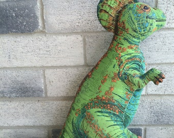 Vintage 1992 Hadrosaurous, Determined Productions plush, Determined Productions Dinosaur