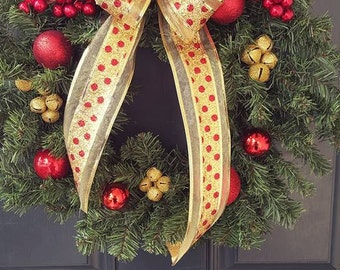 Bells n Berries Christmas Wreath