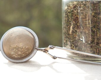 tea infuser wire mesh tea spoon stainless steel tea strainer tea party favor