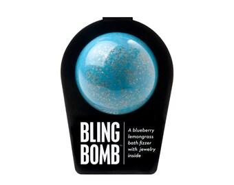 The Bling Bomb, Bath Bomb, Bath Fizzer, Bath Fizzie, Surprise Inside, Bath and Body