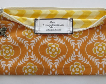 Persette #13 Personalized Zippered Organizing Pouch