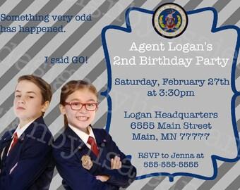 Odd Squad Invitation #9