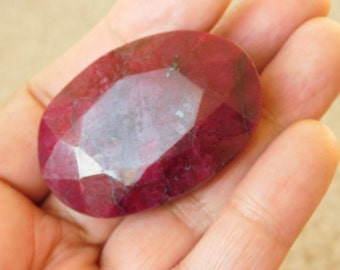Natural Huge Ruby Gemstone !