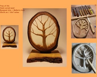 Wood carving - Tree of life
