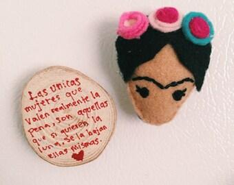 Frida kahlo magnet / keychain