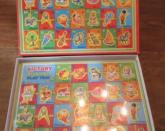 Children's Victory Alphabet Play Tray Puzzle