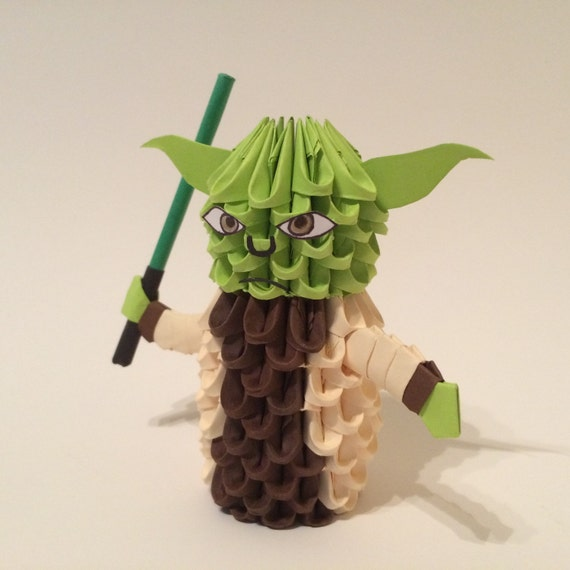 3d origami yoda