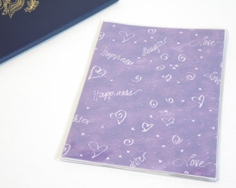 Purple Passport Cover, Love, Laughter, Happiness, Swirl Hearts, Passport  Sleeve, Case, Holder