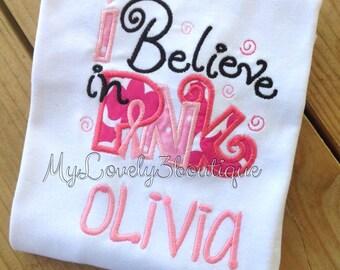 Breast Cancer awareness shirt, Girls awareness shirt, Girls Pink Shirt, Girls breast cancer shirt, Breast cancer support shirt