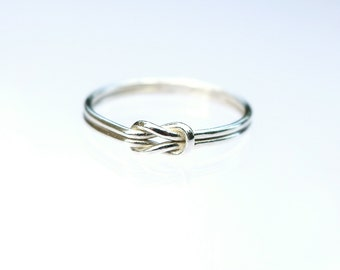 Love Knot Ring/INFINITAS Silver