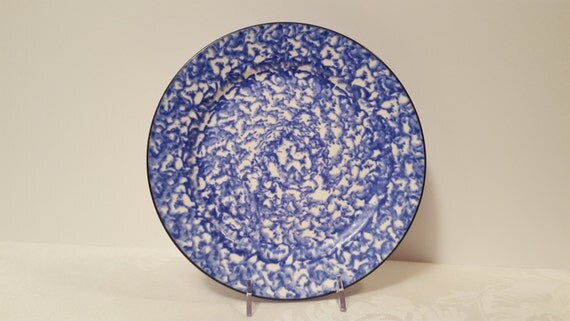 Stangl Blue Town & Country 8.25'' Plate #5287