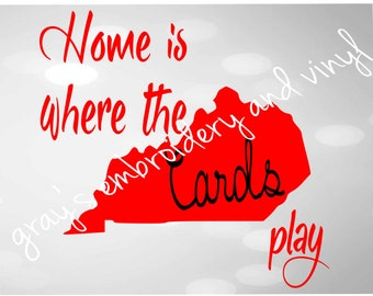 home is where the cards play svg