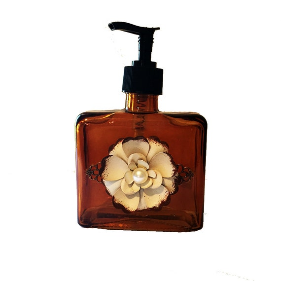 Soap Dispenser Lotion Dispensers Home By Stylishvintagedesign
