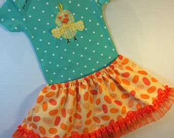 Spring Chick bodysuit with skirt