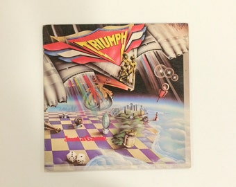 Triumph - Just a Game  vinyl record album LP