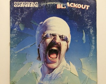 Scorpions - Blackout  vinyl record album LP