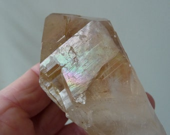 Iridescent Golden Healer Quartz  From Pakistan RESERVED TONIA