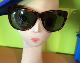Donna Karen glasses made by Bausch & Lomb in the USA tortoise shell sunglasses.