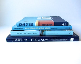Shades of Blue Books (Set of 4)
