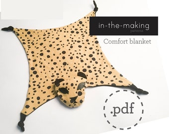 Baby comfort blanket pattern PDF