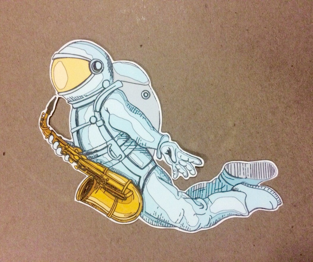 astronaut stickers - photo #20