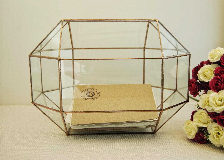 Wedding Card Boxlarge Geometric Box Envelope Holder Rustic