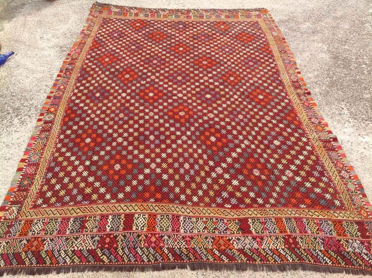 large area rug over size kilim rug 134 39 39 x 86. Black Bedroom Furniture Sets. Home Design Ideas
