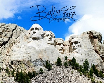 Mt. Rushmore, Print, Photography