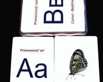 Russian Alphabet Cards