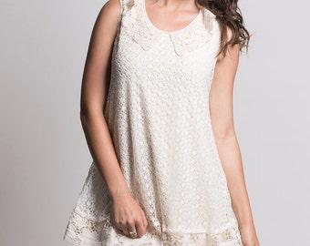 vintage lace dress. lace dress. wedding dress. french lace dress. casual lace dress.
