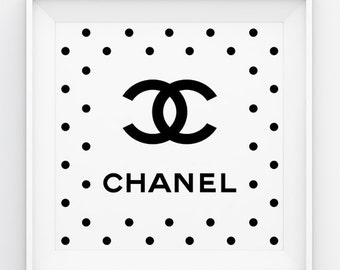 how to draw chanel logo
