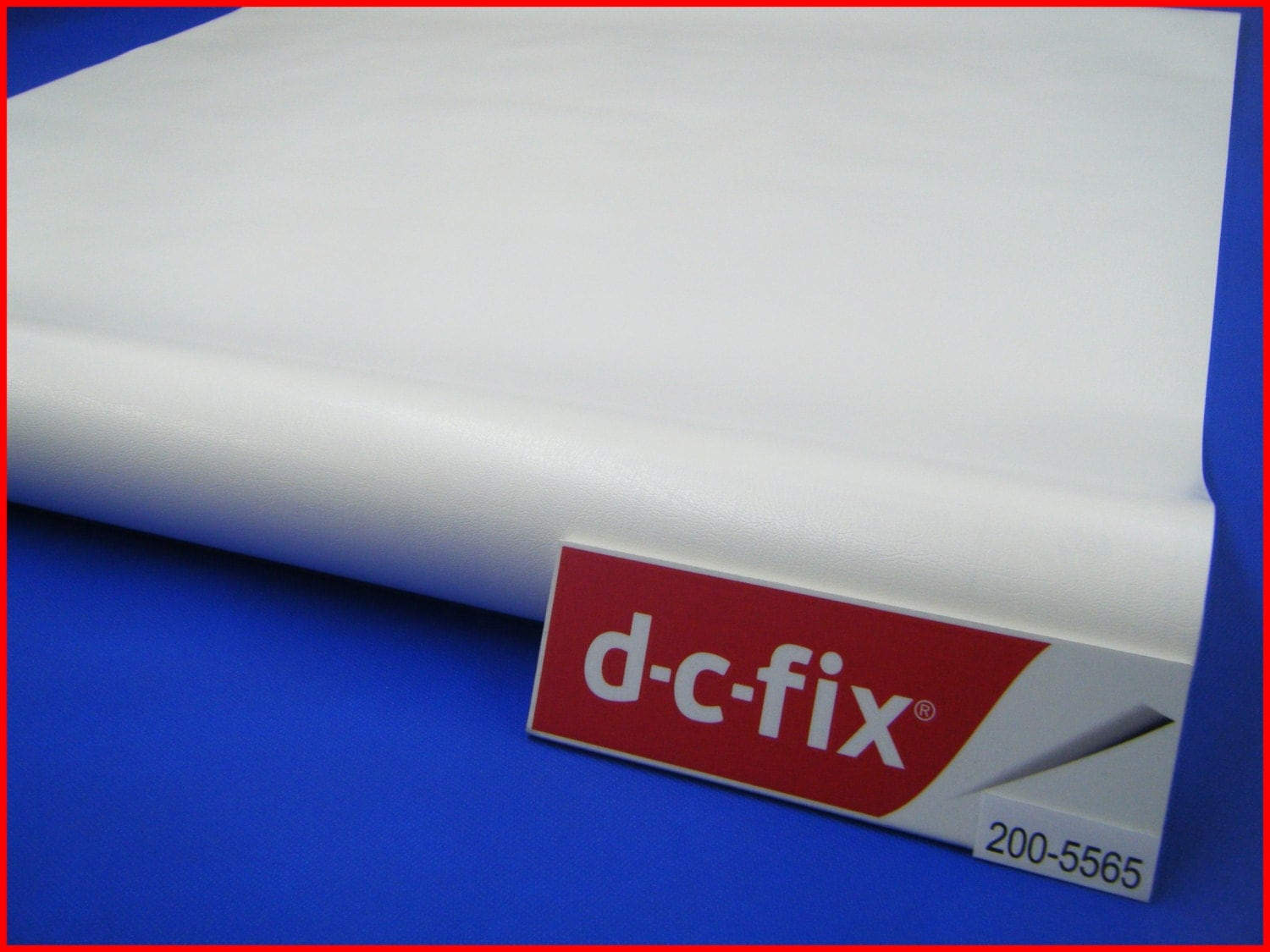 Contact paper dc fix white leather design leatherette sticky - Dc fix tischdecken ...