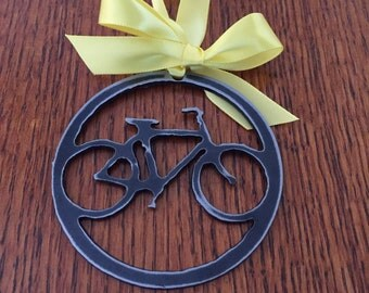 Bicycle Ornament metal