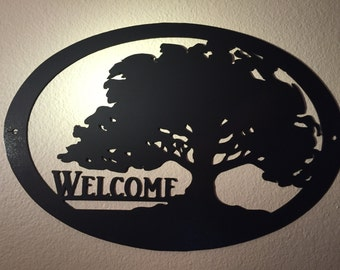 Welcome Sign - Steel