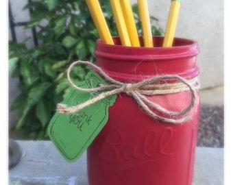 Mason Jar Apple-Great for Teachers
