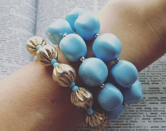 Three Blues Bracelet
