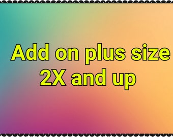 Add on plus size 2x and over
