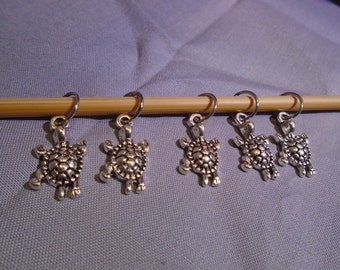 Slow and Steady - Tortoise Stitch Markers