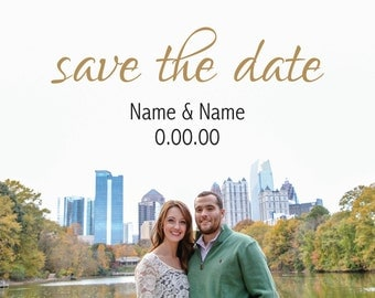 Full Photo Save The Date