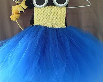 Toddle Minion Tutu dress