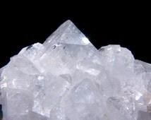 Apophyllite Cluster, Apophyllite Crystals, Zeolite, 6.5oz, Druzy, Poona, India, untreated, cluster, Specimen, Collectors Item, metaphysical