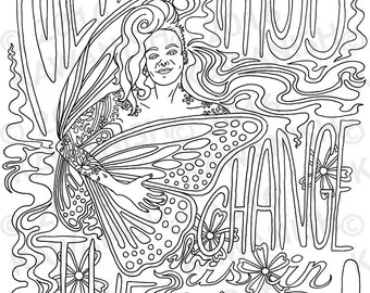 fall zentangle coloring pages | dead tree autumn zentangle adult coloring page gift by ...