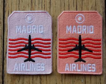 Madrid Airlines - Patch (écusson à coudre)