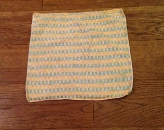 Vintage cotton facecloth / flannel