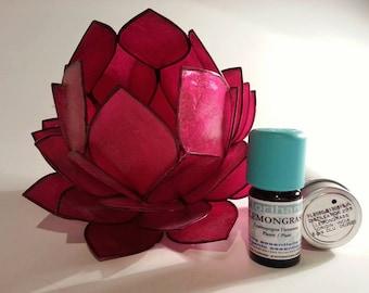 Lemongrass Essential Oil, Lemongrass Organic Essential Oil, Cymbopogon Citratus, 100% Pure EO, Therapuetic Grade Oil, Aromatherapyy