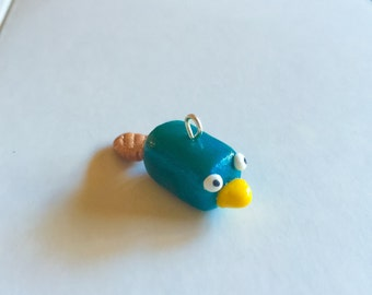 Perry Inspired Polymer Clay Charm (Handmade)
