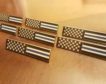 American thin blue line flag bar