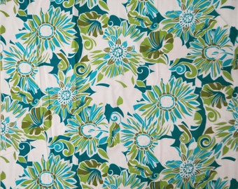 """Multicolor Floral Printed pattern Indian Pure Cotton Dress Making Fabric 42"""" Wide Fabrics Crafting Material Sewing Apparel By 1 Yard ZBC5051"""